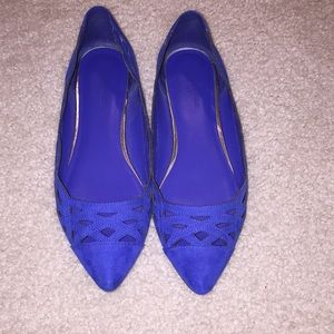 Banana Republic royal blue flats